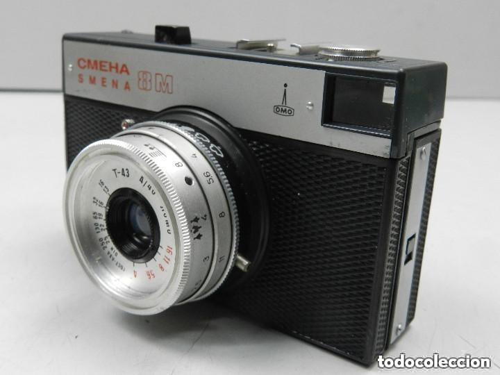 Cámara de fotos: Antigua Cámara Smena 8 Funda Buen Estado Rusia USSR - Foto 2 - 146593242