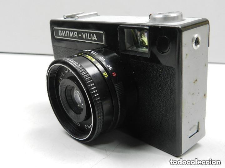 Cámara de fotos: Antigua Cámara Vilia Funda Buen Estado Vintage Rusia USSR - Foto 3 - 146593278