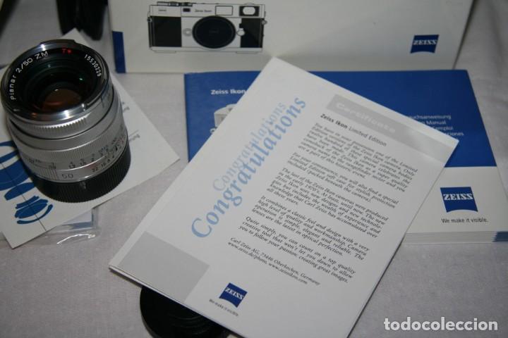 Cámara de fotos: Zeiss Ikon ZM Limited Edition - Foto 14 - 146597566