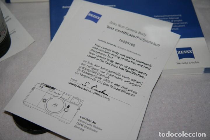 Cámara de fotos: Zeiss Ikon ZM Limited Edition - Foto 16 - 146597566