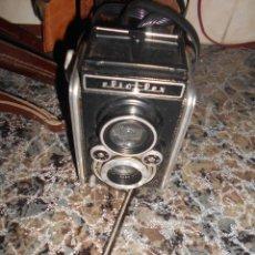 Fotokamera - CAMARA FOTOGRAFICA FERRANIA ELIOFLEX. ITALIANA. FUNDA ORIGINAL. 1953. - 146947050