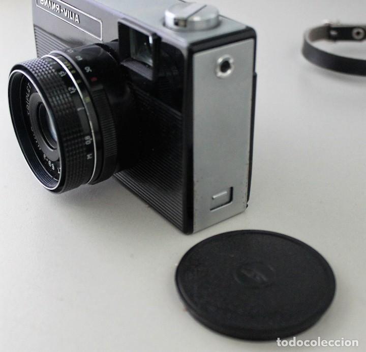 Cámara de fotos: Antigua cámara fotográfica rusa marca Vilia. - Foto 4 - 147105502
