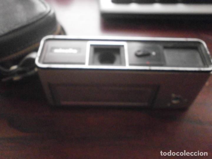 Cámara de fotos: Minolta HI Matic G objetivo Rokkor 1.28 f 38 mm - Minolta 16 modelo P espia con funda cuero - Foto 4 - 147470250
