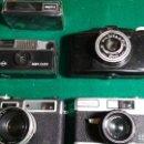 Cámara de fotos: LOTE CAMARAS SKINA, PHOTAX, YASHICA ELECTRIC. YASHICA MAT, AGFA CLICK VER FOTOS. Lote 147526154