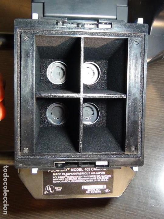 Cámara de fotos: Polaroid Studio Express Modelo 403...Ver video!!!!. - Foto 15 - 147574350