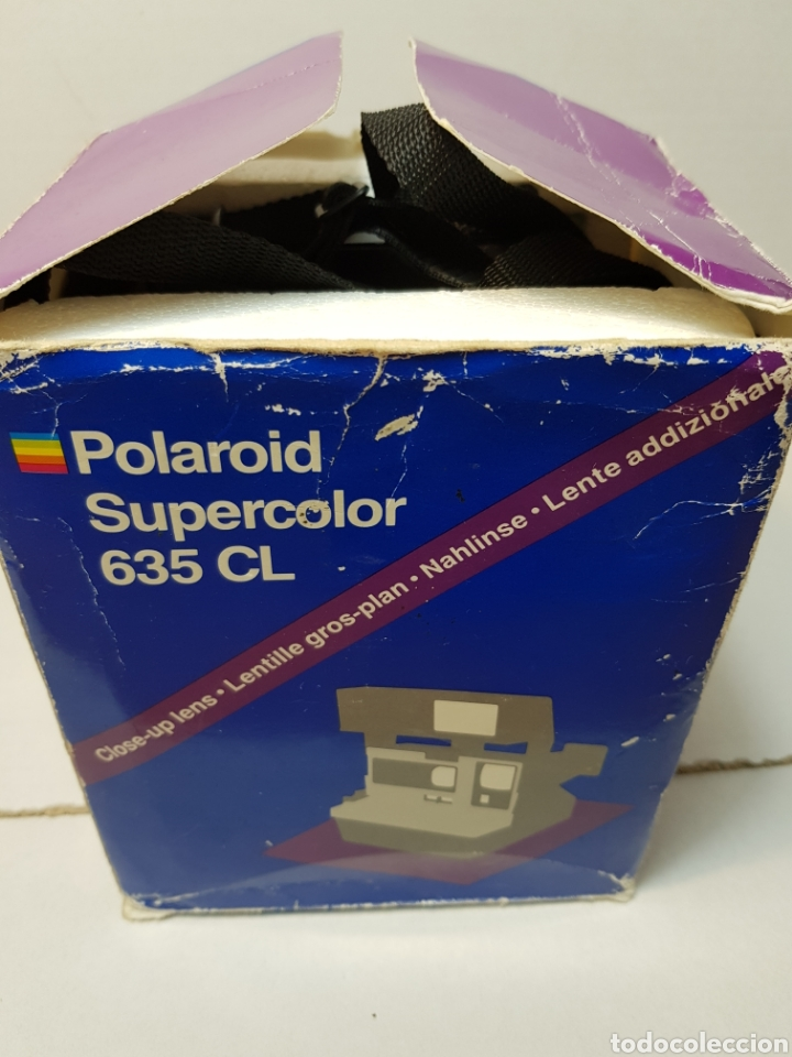 Cámara de fotos: Camara Polaroid Supercolor 635CL en caja original - Foto 9 - 147613145