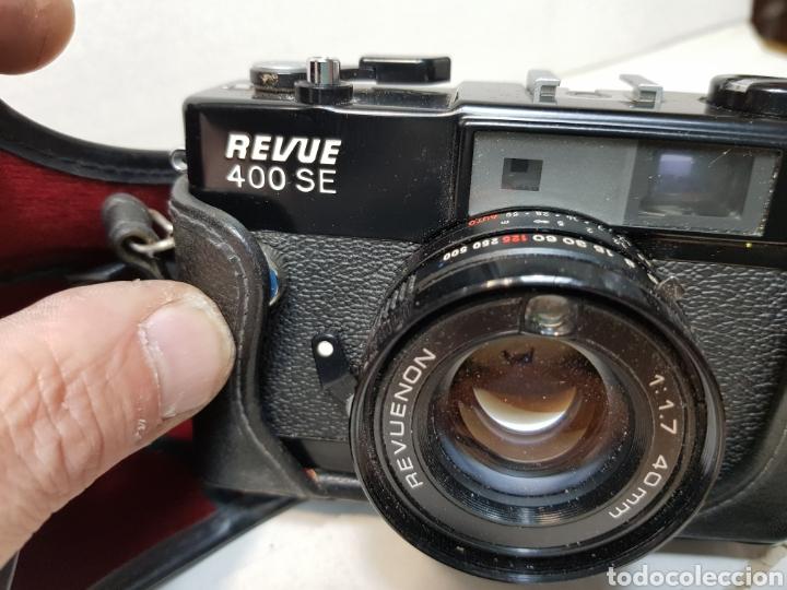 Cámara de fotos: Camara Revue 400 SE 1:17 40mm en funda original muy escasa - Foto 3 - 147615572