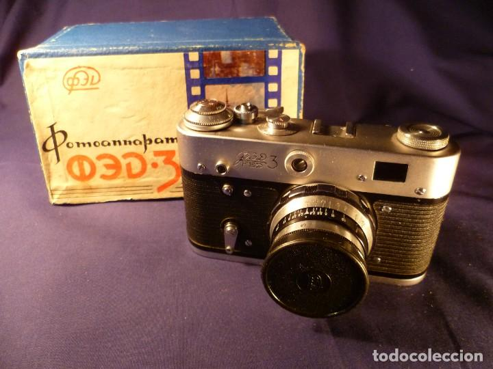 CÁMARA FED 3 RUSA - URSS (Cámaras Fotográficas - Clásicas (no réflex))