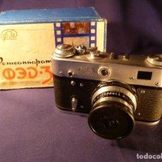 Cámara de fotos: CÁMARA FED 3 RUSA - URSS. Lote 147716310