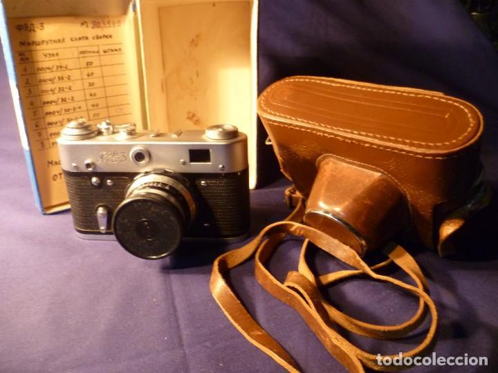 Cámara de fotos: CÁMARA FED 3 RUSA - URSS - Foto 6 - 147716310