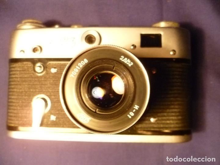 Cámara de fotos: CÁMARA FED 3 RUSA - URSS - Foto 12 - 147716310
