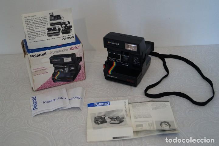 Cámara de fotos: Polaroid Supercolor 635 CL - Foto 9 - 148439418