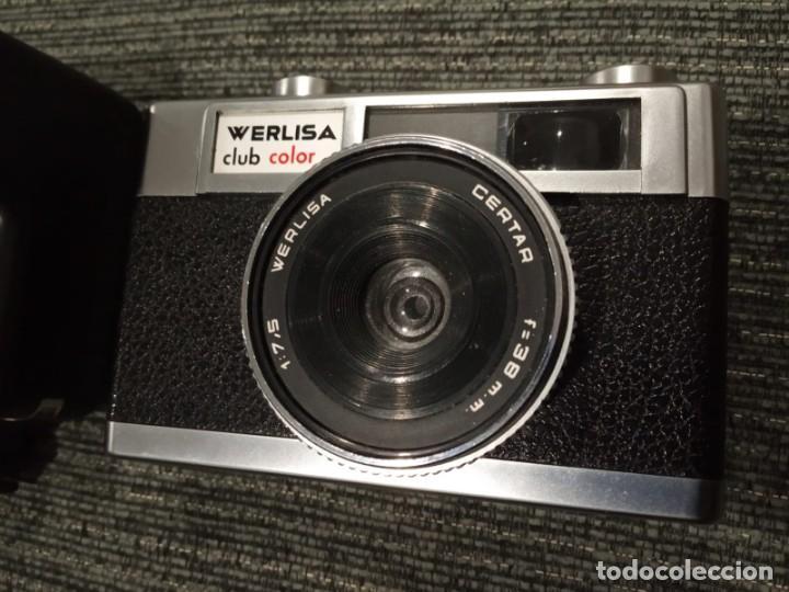 Cámara de fotos: WERLISA CLUB COLOR-1:7,5- F=38MM- + FLASH PREMIER PC-300 - NO TESTEADA - Foto 7 - 148509190