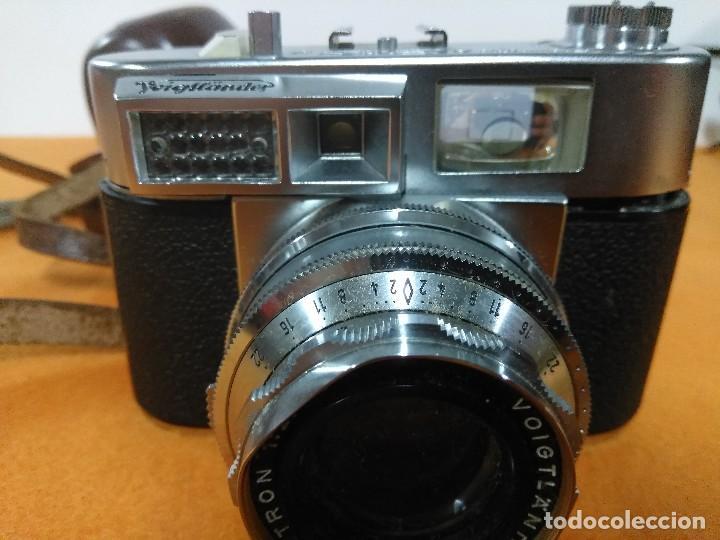 Cámara de fotos: CAMARA FOTOGRAFICA VOIGTLANDER VITOMATIC II a - Foto 2 - 148951234