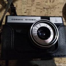 Cámara de fotos: CÁMARA RUSA SMENA SYMBOL COSMIC CON FUNDA ORIGINAL. Lote 149430349