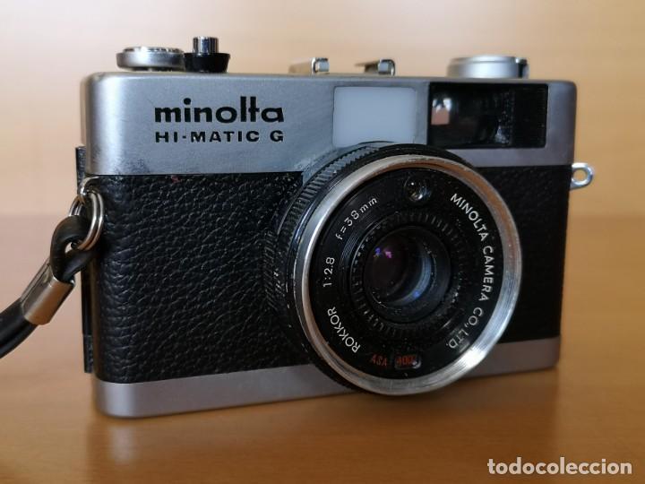 MINOLTA HI-MATIC G (Cámaras Fotográficas - Clásicas (no réflex))