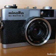 Cámara de fotos: MINOLTA HI-MATIC G. Lote 149587810