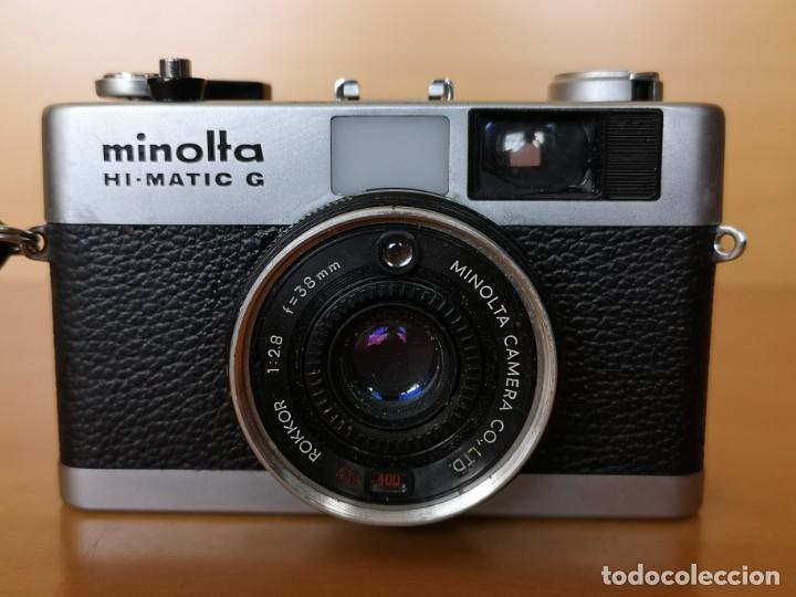 Cámara de fotos: MINOLTA HI-MATIC G - Foto 2 - 149587810