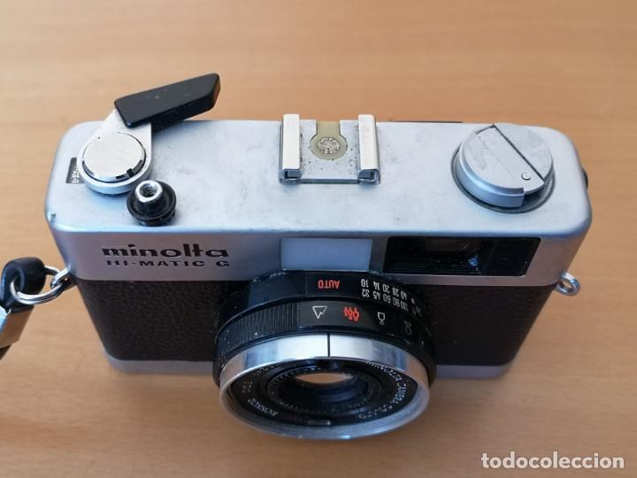 Cámara de fotos: MINOLTA HI-MATIC G - Foto 3 - 149587810