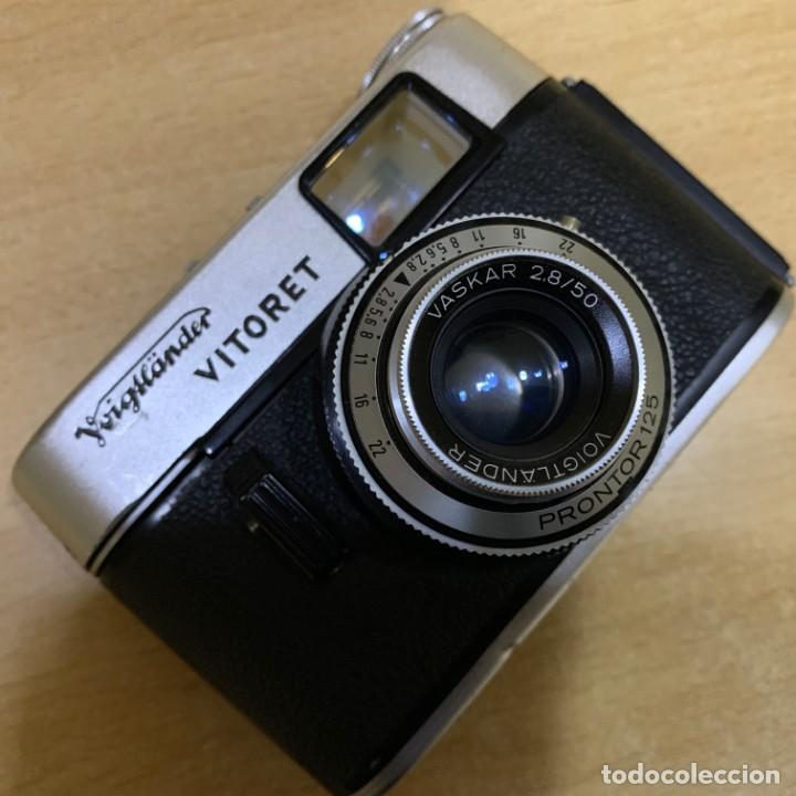 Cámara de fotos: VOIGTLANDER VITORET - Foto 7 - 149617330