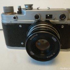 Cámara de fotos: CAMARA RUSA TELEMETRICA ZORKI C.AÑO 1957.LEICA RUSA.FUNCIONA. Lote 150268016
