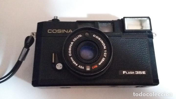 COSINA FLASH 35E, USADA (Cámaras Fotográficas - Clásicas (no réflex))