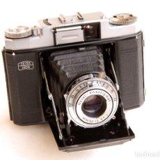 Cámara de fotos: *C1956* • ZEISS IKON NETTAX (513/16) OBJ. NOVAR F4.5 • FORMATO MEDIO 6X6, CON FOTÓMETRO. Lote 95908739