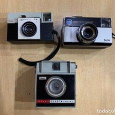 Cámara de fotos: LOTE DE 3 CAMARAS KODAK FABRICADAS EN ESPAÑA. Lote 151363050