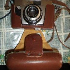 Cámara de fotos: VINTAGE CAMARA AGFA SILETTE I 1953 CON FUNDA. Lote 175053198