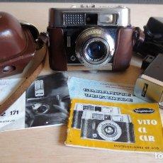 Cámara de fotos: CAMARA FOTOGRAFICA VOIGTLANDER VITO CLR. AÑOS 60, Y FLASH METZ MECABLITZ 101.. Lote 150616114