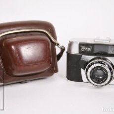 Cámara de fotos: CÁMARA FOTOGRÁFICA REPORTER - PRONTOR 125 - FUNDA ORIGINAL - ALEMANIA, AÑOS 60. Lote 152912742