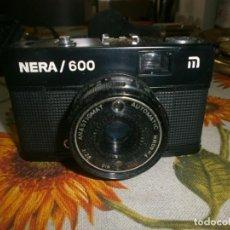 Cámara de fotos: CAMARA FOTOGRAFICA NERA 600 ANASTIGMAT AUTOMATIC F=40 MM - 1:28 CON FUNDA ORIGINAL SIN PROBAR. Lote 153060242