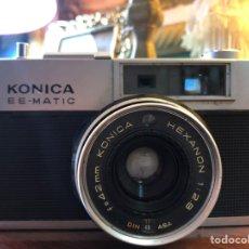 Cámara de fotos: KONICA DELUXE F EE-MATIC. Lote 153122100