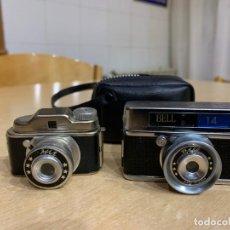 Cámara de fotos: DOS CAMARAS ESPIA – HIT Y BELL 14. Lote 153621274