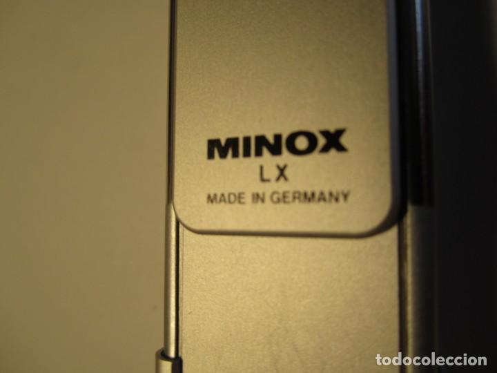 Cámara de fotos: lote camara fotografica minox lx con su funda original y manual de instrucciones y 11 carretes minox - Foto 8 - 153819822