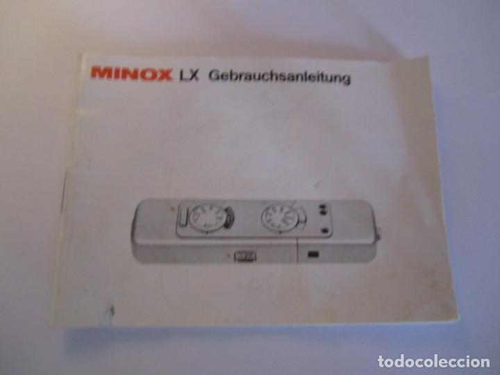 Cámara de fotos: lote camara fotografica minox lx con su funda original y manual de instrucciones y 11 carretes minox - Foto 10 - 153819822