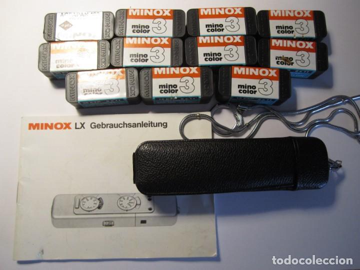Cámara de fotos: lote camara fotografica minox lx con su funda original y manual de instrucciones y 11 carretes minox - Foto 14 - 153819822