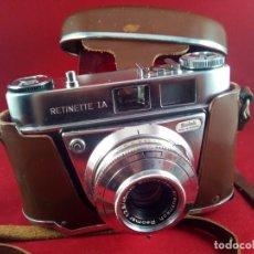 Cámara de fotos: KODAK RETINETTE IA. Lote 154944098