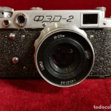 Cámara de fotos: ANTIGUA CAMARA DE FOTOS TELEMETRICA RUSA FED 2 FED-2 AÑOS 50 , BUEN ESTADO GENERAL OPORTUNIDAD !!. Lote 155330910