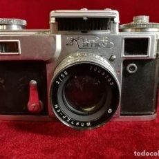 Cámara de fotos: ANTIGUA CAMARA DE FOTOS RUSA TELEMÉTRICA - KIEV CON OBJETIVO JUPITER 8 - AÑO 1959 GRAN OPORTUNIDAD. Lote 155333206