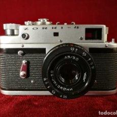 Cámara de fotos: ANTIGUA CAMARA RUSA TELEMETRICA UNION SOVIETICA ZORKI 4 , OPORTUNIDAD RARA !!!!. Lote 155347858