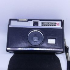 Appareil photos: KODAK 50 INSTAMATIC CAMERA - CÁMARA DE FOTOS ANTIGUA DE COLECCIÓN VINTAGE. Lote 157355370