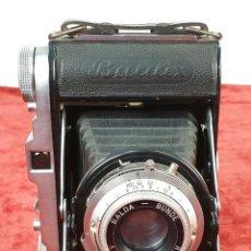 Cámara de fotos: CÁMARA FOTOGRÁFICA DE FUELLE. BALDA MOD. BALDIX. 35 MM. ALEMANIA. 1950.. Lote 157660454