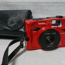Cámara de fotos: CÁMARA DE FOTOS KONICA EFP20 ROJA. Lote 158022574