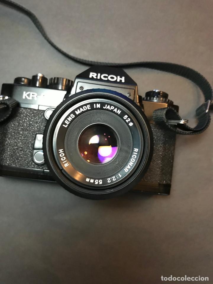 Cámara de fotos: Cámara analógica japonesa Ricoh KR-5 - Foto 2 - 137154118