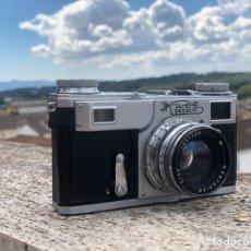 Cámara de fotos - Clásica cámara telemetrica de colección KIEV 4 año 1971 - 158916262