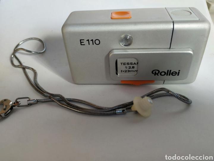 ANTIGUA CAMARA ROLLEI A110 POCKET LEER TEXTO (Cámaras Fotográficas - Clásicas (no réflex))