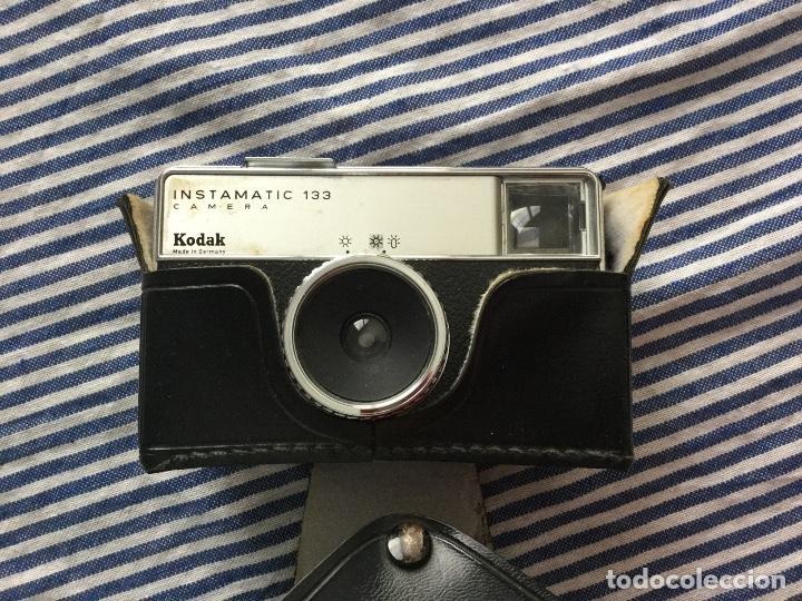 Cámara de fotos: Cámara Kodak instamatic 133 con funda original Made in Germany - Foto 2 - 159512366