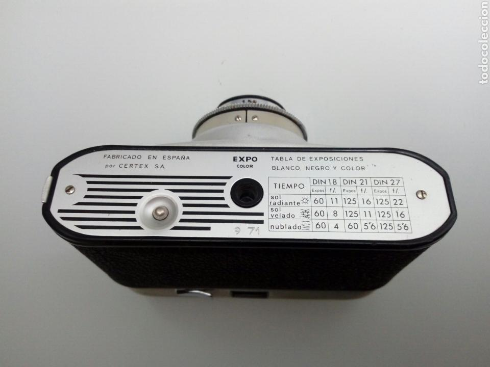 Cámara de fotos: FUNCIONA - cámara EXPO COLOR Certex (anastigmatico Trilux 1:2.8 / 45mm) Werlisa Lomografía - Foto 3 - 159530650