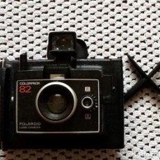 Cámara de fotos: CAMARA POLAROID LAND CAMERA. COLORPACK 82. JAPON. ENVIO CERTIFICADO INCLUIDO.. Lote 159841938